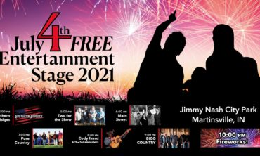 JULY 4TH, FREE ENTERTAINMENT STAGE